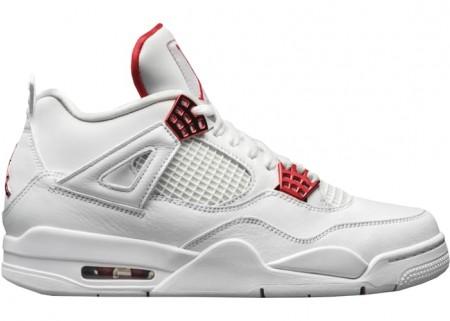 Fake Jordan 4 Retro Metallic Red