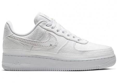 Nike Fake Force 1 LX Tear Away White