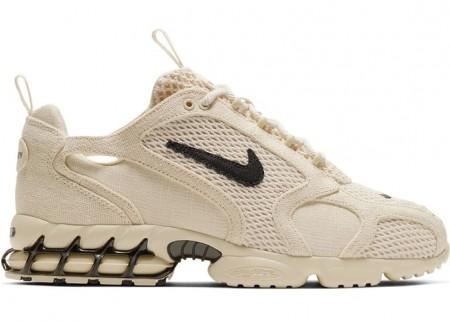 Nike Fake Zoom Spiridon Cage 2 Stussy Fossil