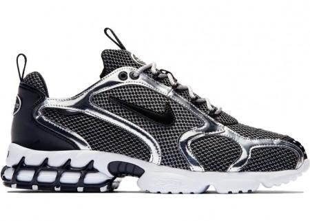 Nike Fake Zoom Spiridon Cage 2 Stussy Pure Platinum
