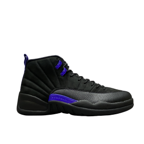 Fake Jordan 12 Retro Black Dark Concord