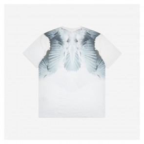 Givenchy 18 Fw Wings Printed Short Sleeve