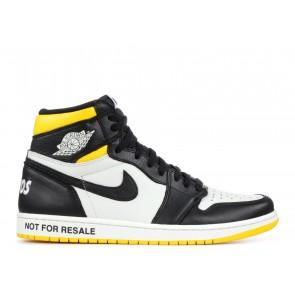 """Fake Jordan 1 Retro High """"Not for Resale"""" Varsity Maize"""