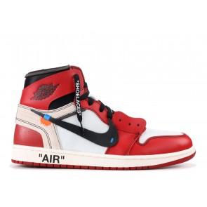 Fake Jordan 1 Retro High Off-White Chicago