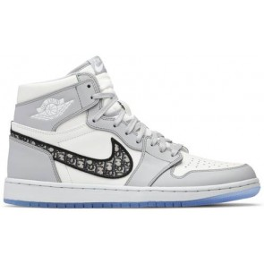 Fake Jordan 1 Retro High Dior (Blue Box Version)