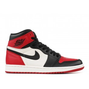 Fake Jordan 1 Retro High Bred Toe