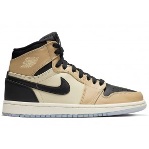 Fake Jordan 1 Retro High Black Mushroom