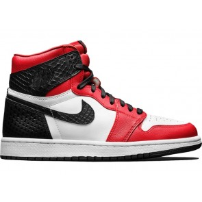 Fake Jordan 1 Retro High Satin Snake Chicago