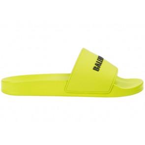 Balenciaga Pool Slide Lime