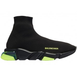 Balenciaga Speed Trainer Clearsole Yellow Fluo