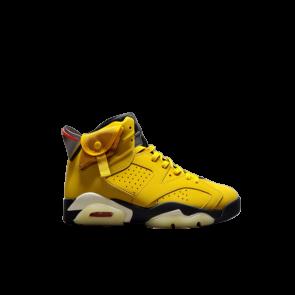 Fake Jordan 6 Travis Scott X Retro Cactus Jack Yellow