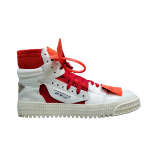 OFF-WHITE Off-Court 3.0 High Red White
