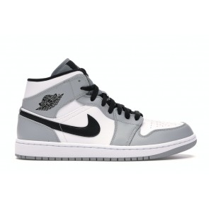 Fake Jordan 1 Mid Light Smoke Grey