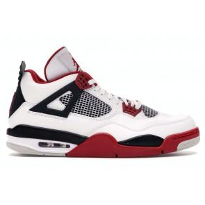 Fake Jordan 4 Retro Fire Red