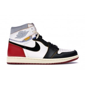 Fake Jordan 1 Retro High Union Los Angeles Black Toe